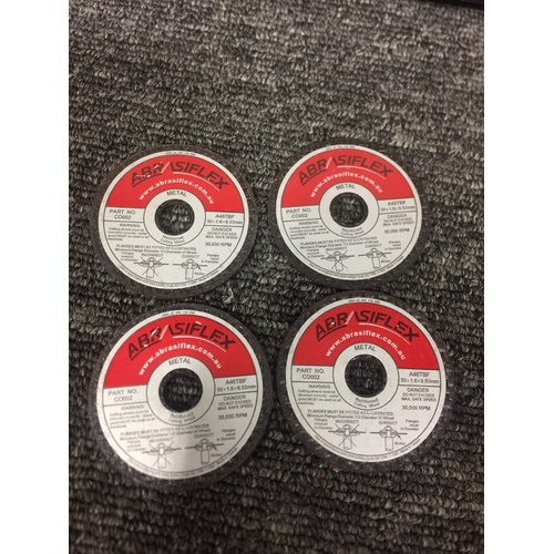 Mini Cut Off Discs 50mm 4 pack Suit Proxxon,Sonic etc